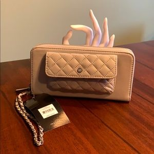 Brand New Beautiful Grey Jones NY Wristlet/Wallet